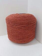 Wolle Garn Stricken & häkeln| Kone 100% baumwolle braun 1,2kg/Nm 7/1 Cotton bw11