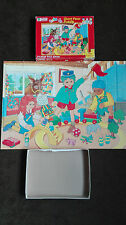 tots tv giant floor puzzle 24 piece by michael stanfield vintage 1994 very rare