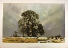"DAVID SHEPHERD ""melting snow"" RARE out of print 1979 Last copies remaining"