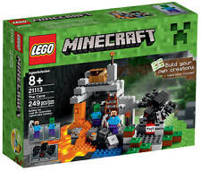 NEU LEGO® Minecraft® 21113 Die Höhle NEU & OVP Steve Zombie Spinne