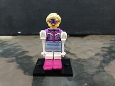 LEGO Downhill Skier Collectible Minifigure Series 8 (8833) Complete - Genuine