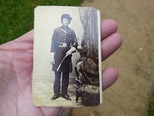 Civil War Union Soldier W/ Sword Sabre Cdv Photo Milwaukee Wisconsin Sherman