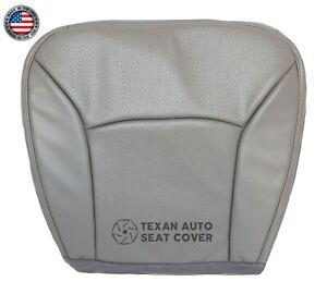 2003 Ford E150 E250 E350 Econoline Van Driver Bottom Perforated Seat Cover Gray