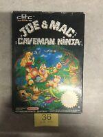 Nes Nintendo Joe & Mac Caveman Ninja