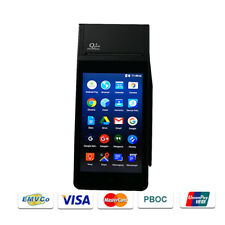 Z90 Lte 4G Magnetic/Ic/Nfc Card Reader Android Pos Terminal with Receipt Printer
