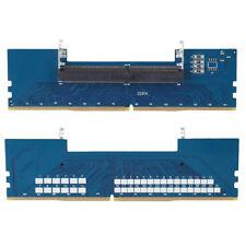 Ddr4 Laptop SODIMM to Desktop DIMM Memory RAM Connector Desktop Adapter Card DH