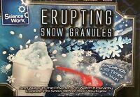 Erupting Snow Granules Girls Boys Science Toys Christmas Gifts Stocking Filler