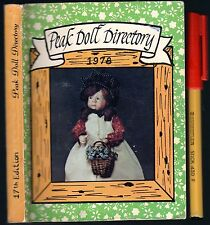 PEAK DOLL DIRECTORY 1978 scarce year. Antique Dolls related