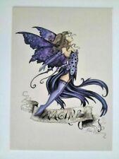 Amy Brown Imagine Purple Fairy Collectible Postcard Art Print *Mint