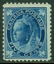 EDW1949SELL : CANADA 1897-98 Scott #70 PO Fresh, Mint NH stamp. Catalog $375.00.