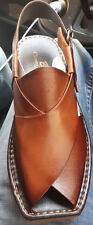 Genuine Peshawari leather men's sandals/ chapals sizes 7 8 9 10 11 12 Brand NEW