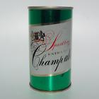 *Champ ale* USBC #54-20, BOTTOM OPEN EMPTY BEER CAN, NO Malt Liquor! Norfolk, VA
