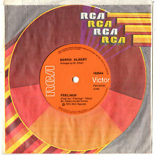 """MORRIS ALBERT - FEELINGS / THIS WORLD TODAY IS A MESS - 7"""" 45 VINYL RECORD 1975"""