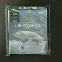 GHOST IN THE SHELL 4K ULTRA HD Blu-ray&Blu-ray Disc 2 set new