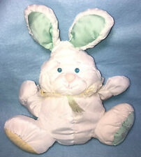 Vintage 1988 Fisher Price Puffalump Quaker Oats Bunny Plush Rattle Baby #1359