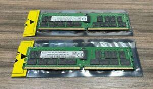 2x 32GB SK hynix 2Rx4 PC4-2933Y RB2-12 HMA84GR7CJR4N-WM; SET OF 2 64gb