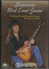 Beginning Rock Lead Guitar Dave Celentano Tuition DVD Learn How To Play