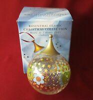 Rosenthal Glas - Christmas - Jahreskugel Weihnachtskugel 1995 Indonesien OVP