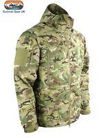 Kom-Tex Defender Waterproof Smock Hood Tactical Military Army Jacket BTP MTP SAS