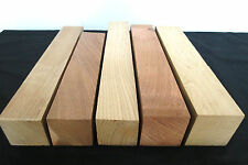 FIVE turning squares lathe spindle blanks duck game turkey trumphet box call, KD