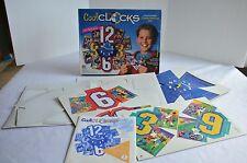Cool Clocks Kids Clock Making Kit Customized  Milton Bradley New