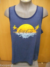 Mens Licensed Coca-Cola Beach Shirt New 2XL