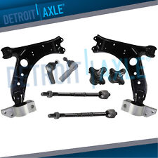 Lower Control Arms + Tierods Ball Joint for VW Eos Golf GTI Jetta AWD
