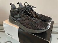 Adidas 3 Stripe Climacool Black Lite Racer Running Shoes size Men's US 9