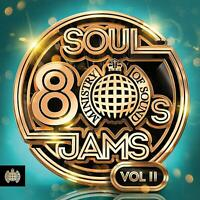 80S SOUL JAMS VOL. II (2019) 60-track 3-CD set NEW/SEALED Ministry Of Sound