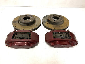 TVR Tuscan Tamora T350 Front AP Calipers With Discs and Pads