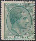 España Spain 196 1878 Alfonso XII Usado