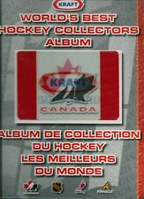 1997-98 Kraft Hockey Complete Factory Cut Card Set with Album