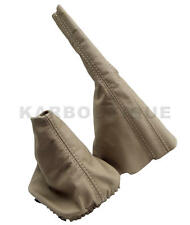 Shift & Brake Boot Leather for VW Jetta Golf Vento MK3 91-98 Beige Manual