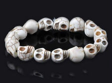 Charm Metal Skeleton Skulls Hole Beads Fit Wristban Charm DIY Paracord Bracelet