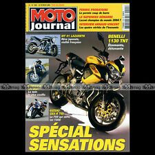 MOTO JOURNAL N°1605 ARNAUD VINCENT, SUZUKI GSXR 750 1984-2004, KAWASAKI VN 2000