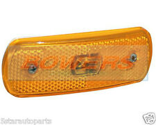 SIM 3157 12V REFLECTIVE AMBER LED SIDE MARKER POSITION LIGHT/LAMP SURFACE MOUNT