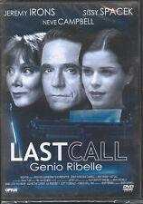 LAST CALL - GENIO RIBELLE - DVD ( NUOVO SIGILLATO )