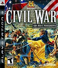 History: Civil War Secret Missions (Sony PlayStation 3, 2008)