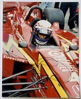 Alex Zanardi signed photo indy 500 racing 8x10 autographed