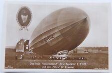 Graf Zeppelin L Z 127 Antique Real Photo Postcard