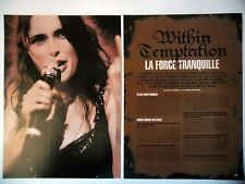 COUPURE DE PRESSE-CLIPPING :  WITHIN TEMPTATION [4pages] 12/2004 Sharon Den Adel