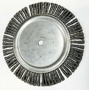"""14"""" Wire Jointing Brush For Floor Saw"""