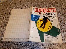 ALBUM CALCIATORI CAMPIONATO DI CALCIO 1957 1958 ED.SPORT NAPOLI VUOTO+4 FIGURINE