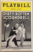Playbill Dirty Rotten Scoundrels  Jonathan Pryce  Norbert Leo Butz  Lucie Arnaz