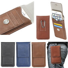 Leather Belt Clip Holster Phone Case Cover For iPhone 11 Pro 7 8 6 Plus X XS Max