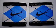 Nike University Of North Carolina Jordan Speed Performance Wristbands Navy/White