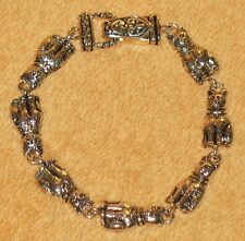 Vintage Cat Silver Color Bracelet