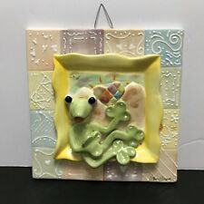 KoKo Originals by Athena Boulgarides Wall Plaque with Frog