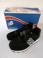 NEW   New Balance   Unisex Kids    KL574 Sneaker   Black Grey   Size 6M