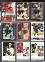 9 Jay Bouwmeester Hockey Cards 2002-03, Pacific, Topps, Upper Deck - Rookies